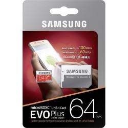 CARTE MEMOIRE SAMSUNG 64 GB EVO PLUS