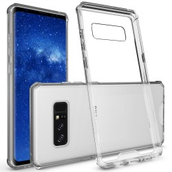 SILICONE POUR SAMSUNG NOTE 8 CRISTAL CLEAR TRANSPARENTE