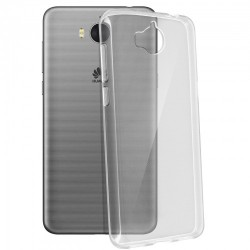 SILICONE HUAWEI Y6 2017 CRISTAL CLEAR TRANSPARENT