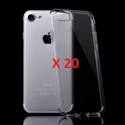PACK DE 20 COQUES SILICONE IPHONE 7