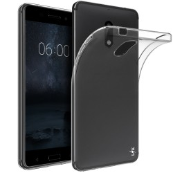SILICONE NOKIA 6 CLEAR TRANSPARENT