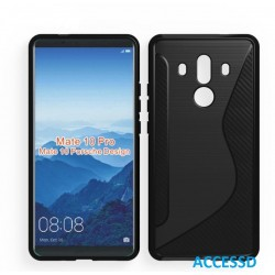 SILICONE S HUAWEI MATE 10 NOIR