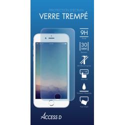 VERRE TREMPE POUR SAMSUNG A8+