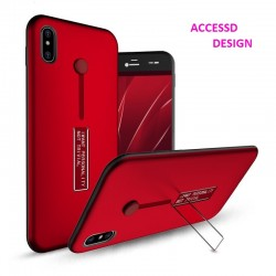 COQUE SUPPORT ARRIERE IPHONE 7 / IPHONE 8 ROUGE