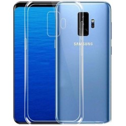 SILICONE POUR SAMSUNG S9+ CLEAR