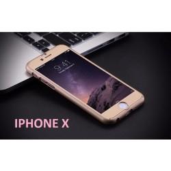 COQUE INTEGRALE GOLD IPHONE X