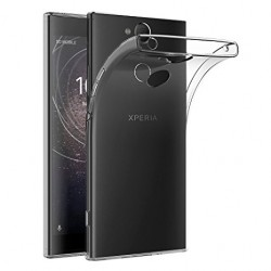 SILICONE SONY XPERIA XA2 CLEAR TRANSPARENTE