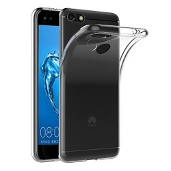 SILICONE HUAWEI Y6 2018 CRISTAL CLEAR TRANSPARENT
