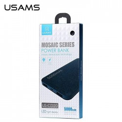 POWER BANK BATTERIE EXTERNE 5000MAH USAMS