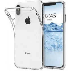 SILICONE IPHONE XS MAX CLEAR TRANSPARENTE