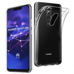 SILICONE HUAWEI MATE 20 LITE CRISTAL CLEAR