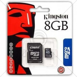 CARTE MEMOIRE SDHC 8 GB KINGSTON