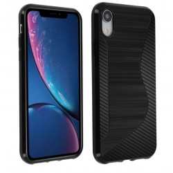 SILICONE S IPHONE XR NOIRE