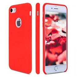 COQUE SOFT TOUCH IPHONE 7 ROUGE