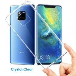 SILICONE HUAWEI MATE 20 PRO CLEAR TRANSPARENTE