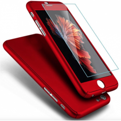 COQUE INTEGRALE IPHONE 6 AVEC VERRE TREMPE IP6 INCLUS