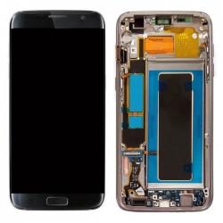 ECRAN LCD TACTILE POUR SAMSUNG S7 EDGE NOIR