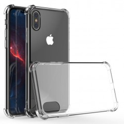 SILICONE IPHONE X/XS RENFORCEE 4 COINS