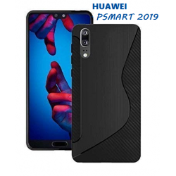 SILICONE S HUAWEI PSMART 2019 NOIRE