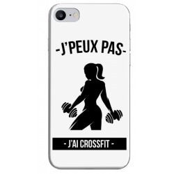 COQUE SILICONE IPHONE 7/8 CROSSFIT