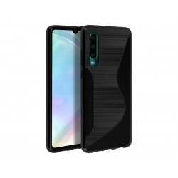 SILICONE S HUAWEI P 30 NOIRE